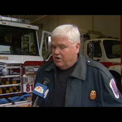 PGFD PIO Mark Brady is interviewed by NBC News