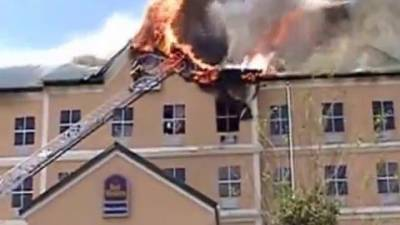 Despite overwhelming odds 2 Departments save new hotel